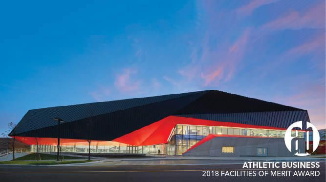 University of Guelph Gryphons Athletic Centre receives 2018 Facilities of Merit Award