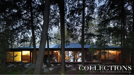Clear Lake Cottage and Carcross Cottages featured in Collections Magazine