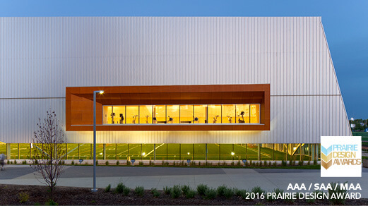 Commonwealth Community Recreation Centre wins 2016 Prairie Design Award