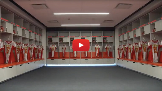 Video: First look at the locker rooms at the Guleph Gryphons Alumni Pavilion
