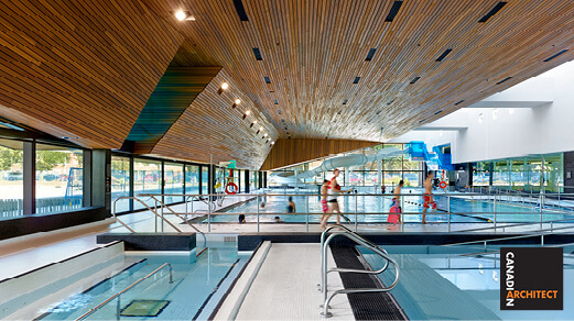 Regent Park Aquatic Centre featured on cover of this month's Canadian Architect