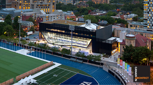Goldring Centre for High Performance Sport Featured in Canadian Architect