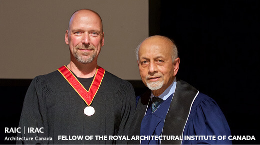 Viktors Jaunkalns inducted as a RAIC Fellow