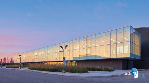 Conestoga College Student Recreation Centre featured on ArchDaily