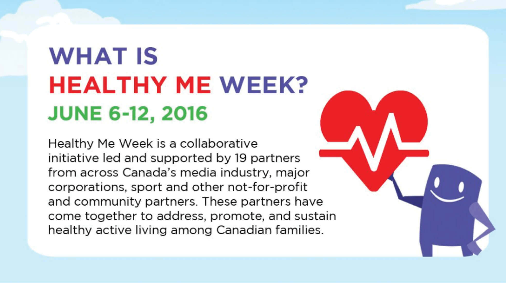 Reminder: Next Week is Healthy Me Week!