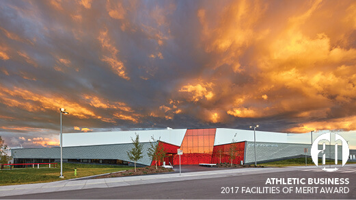 Great Plains Recreation Facility receives 2017 Facilities of Merit Award