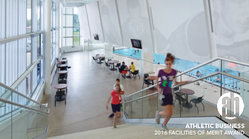 Vale Health & Wellness Cnetre Receives a 2016 Athletic Business Facilities of Merit Award
