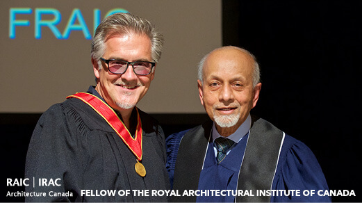 David Miller inducted as a RAIC Fellow